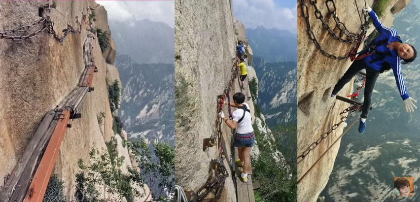 World's Most Terrifying Hiking Trail?